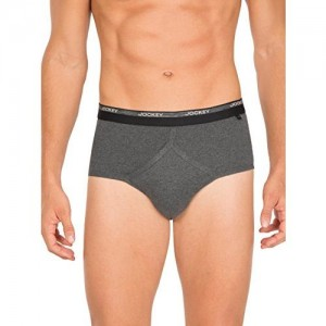 8a2202aa721d79 Jockey Men's Cotton Classic Brief 2007 (Colours May Vary, 90) - Pack of