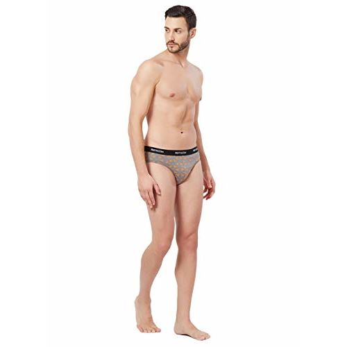 Fruit of the Loom Men's Printed Cotton Brief