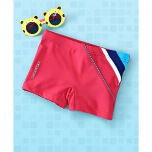 Lobster Swimming Trunks - Red