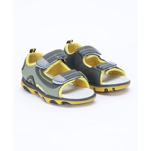 Cute Walk by Babyhug Floaters - Olive Green & Yellow
