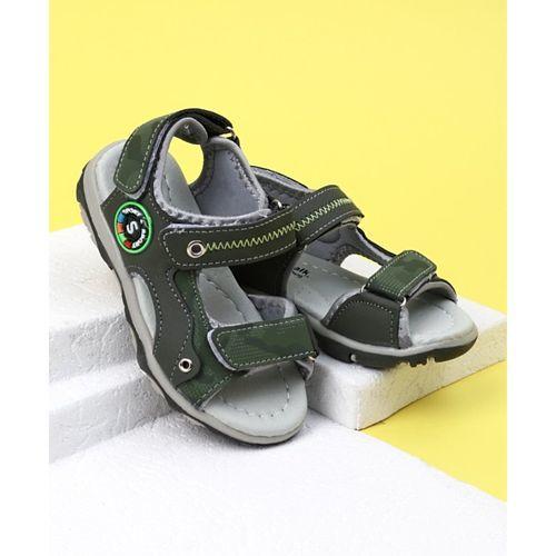 147577897d01 Buy Cute Walk by Babyhug Sandals - Olive Green online