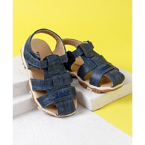 Cute Walk By Babyhug Closed Toe Sandals - Navy