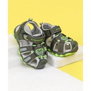 42ce53a80ac Cute Walk By Babyhug Closed Toe Sandals Fashion Print - Green