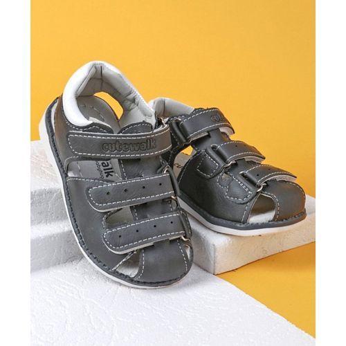 94c2ffb04c3e Buy Cute Walk by Babyhug Closed Toe Sandals - Grey online