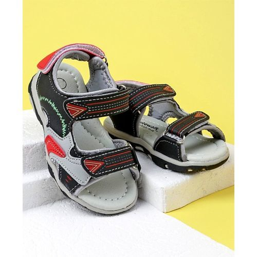 Cute Walk by Babyhug Floaters - Grey Red