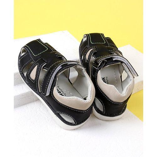 Cute Walk by Babyhug Sandals - Black