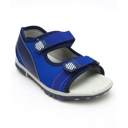 Cute Walk by Babyhug Sandals With Dual Velcro Closure - Royal Blue