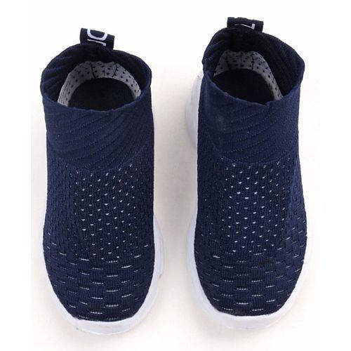Cute Walk by Babyhug Sports Shoes - Navy Blue