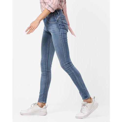 TALLY WEiJL Skinny Fit Washed Jeans