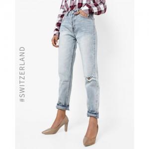 TALLY WEiJL High-Rise Distressed Boyfriend Jeans