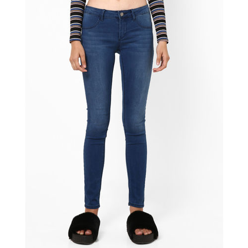 TALLY WEiJL Lightly Washed Skinny Jeans