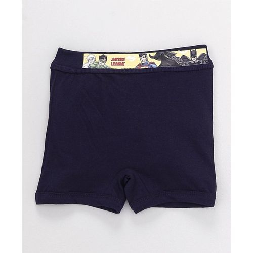 Red Rose Boxer Briefs Justice League Print Pack of 3 - Beige Navy Black