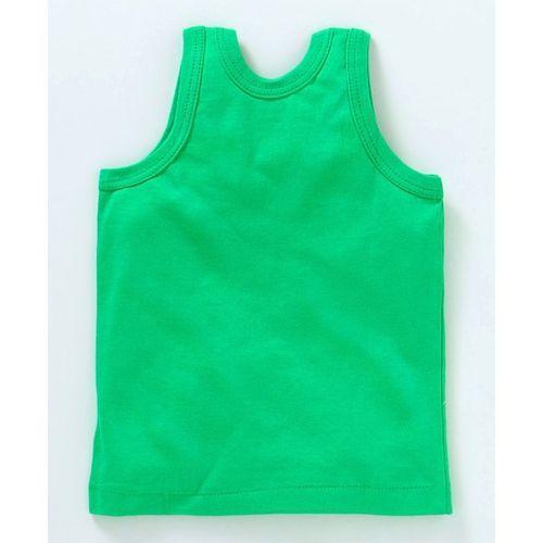 Zero Sleeveless Vests Multi Print Pack of 3 - Blue Green & Dark Peach