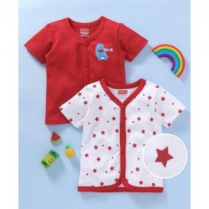 85a2fb50e Buy Baby Grow Mini Berry Long Sleeve Cotton Sleep Suit Romper Set of ...