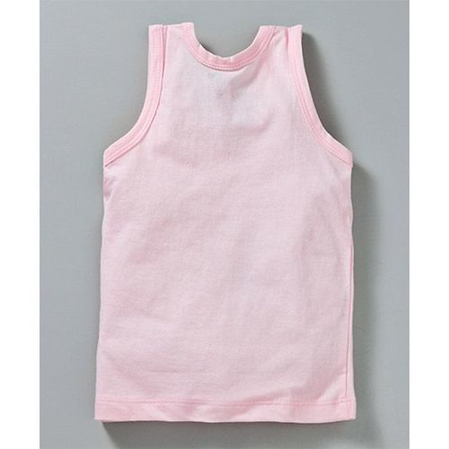 Simply Sleeveless Vests Bear Print Pack of 3 - Green Pink Blue