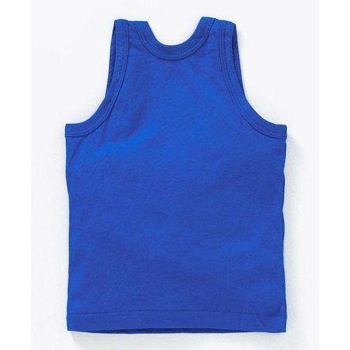 Zero Sleeveless Vest Building Co Print Pack of 3 - Orange Yellow Blue