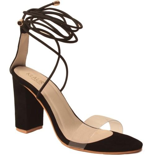 Klaur Melbourne Black Heels