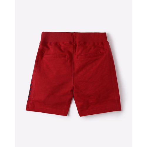 U.S. Polo Assn. Flat-Front Shorts with Elasticated Waistband