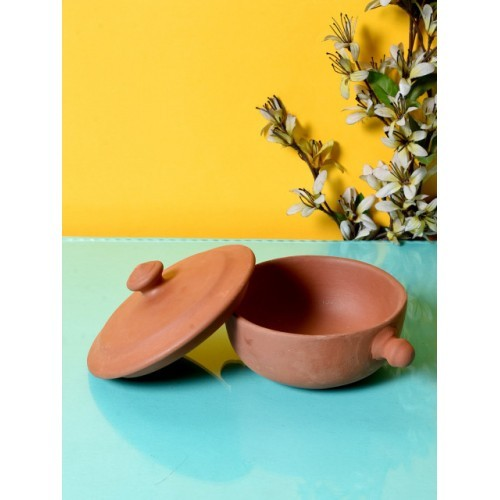 Unravel India Brown Solid Bowl