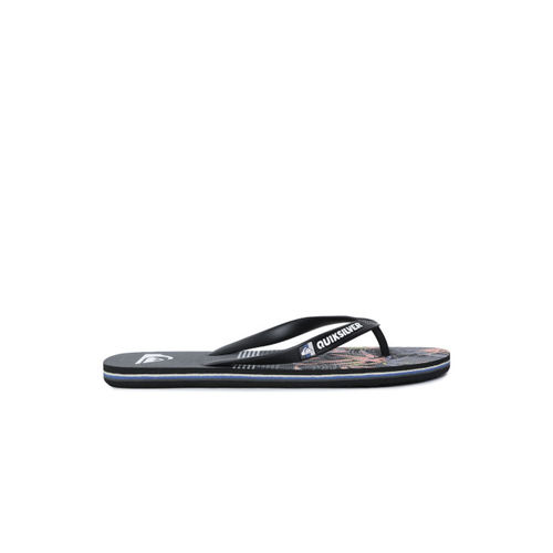 Quiksilver Men Black Printed Thong Flip-Flops