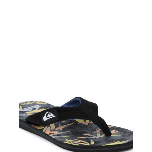 Quiksilver Men Multicoloured Printed Thong Flip-Flops