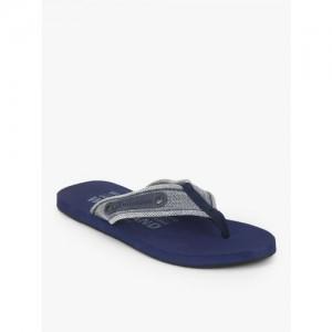 Woodland Navy Blue Flip Flops