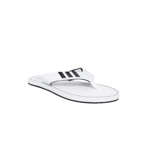 ADIDAS Men White & Black COSET 2018 Thong Flip-Flops