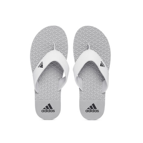 54854b9e8a8 Buy ADIDAS Men Grey BISE Textured Thong Flip-Flops online ...