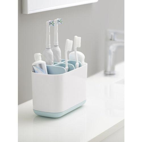 Joseph Joseph White Plastic Toothbrush Holder