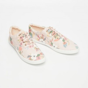 Ginger by Lifestyle Pink Synthetic Lace Up Casual Shoes
