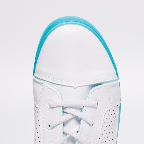 Ginger by Lifestyle Women Teal & White Sneakers