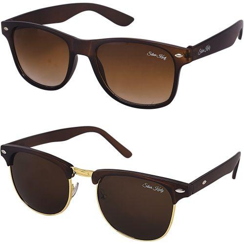 Silver Kartz Wayfarer Sunglasses