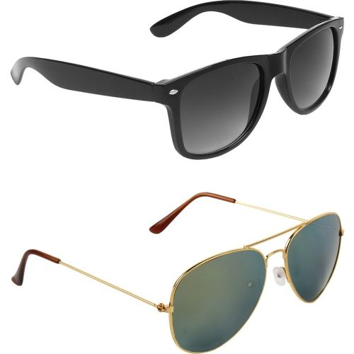 ABNER Wayfarer, Aviator Sunglasses