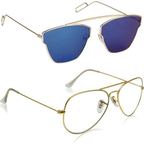 Phenomenal Aviator, Butterfly Sunglasses