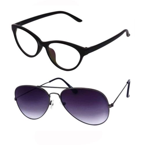 Barbarik Cat-eye, Aviator Sunglasses