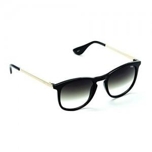 IDEE-S2304-C1 Unisex Black Shaded Medium Round Sunglasses