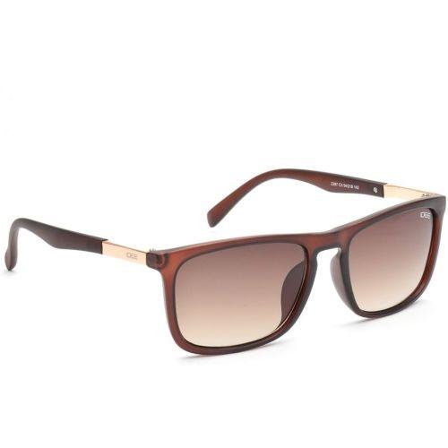 IDEE Brown Stylist Unisex Rectangular Sunglasses