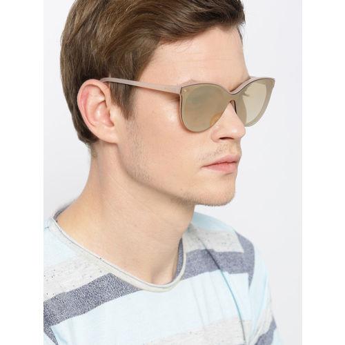 I DEE Unisex Mirrored Cateye Sunglasses EC1252