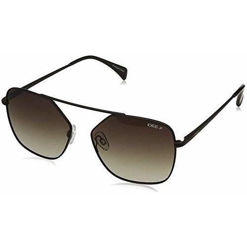 IDEE Polarized Square Men's Sunglasses - (IDS2402C6PSG|56|Green Gradient Color Lens)