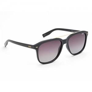 IDEE Polarized Square Men's Sunglasses - (IDS2437C1PSG|56|Smoke Gradient Color Lens)