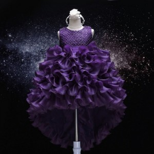 THE LONDON STORE Violet Organza Frocks