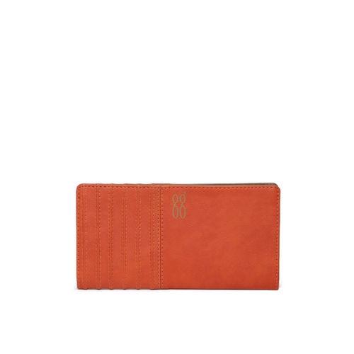 Baggit Women Orange Solid Two Fold Wallet