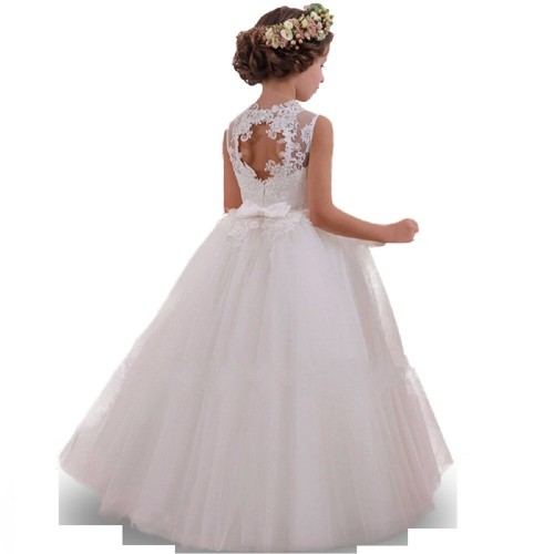 THE LONDON STORE White Organza Party Ball Gown