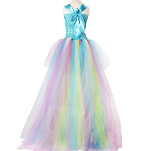 THE LONDON STORE Exquisite Peacock Water Fairy Tutu Dress