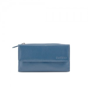 73cc15b19e7 Buy Holii Holii Sitar W1 Munsell Blue   Red Embossed Bi-Fold Wallet ...