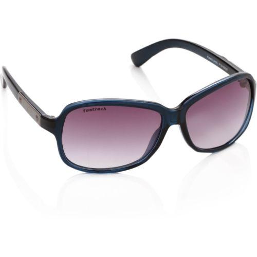 Fastrack Polycarbonate Purple Rectangular Sunglasses