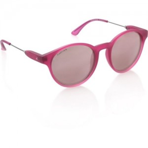 Fastrack Pink _Polycarbonate Round Sunglasses