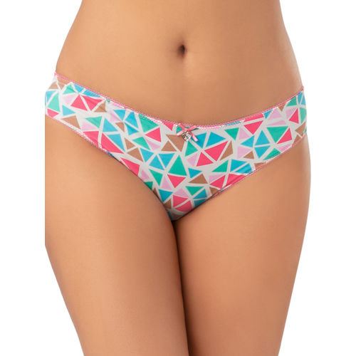 PrettySecrets Women Multi-Coloured Printed Briefs PBA004