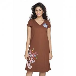 Clifton Women's Long Top Nightwear - Floral