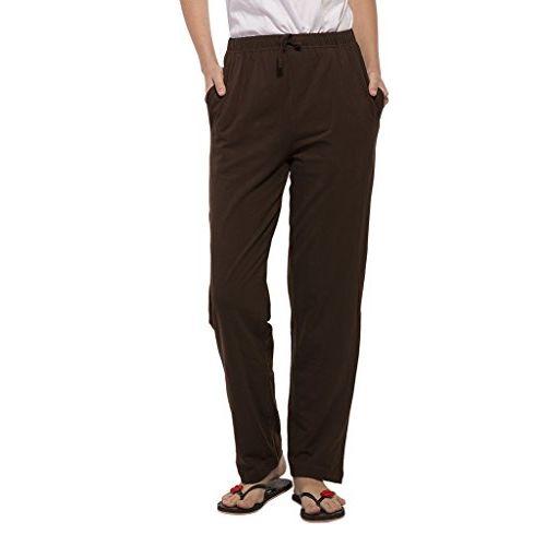 Clifton Womens Solid Pyjama - Dark Chocolate